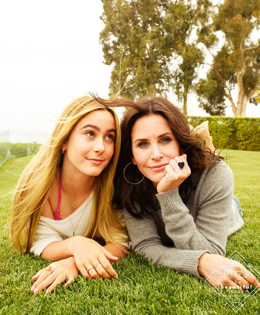 Courteney Cox & Coco