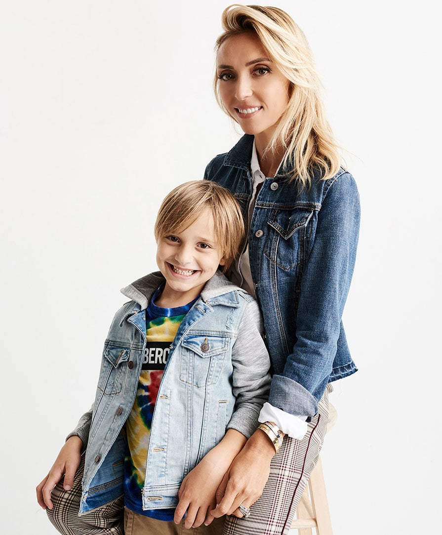 Giuliana Rancic with her son